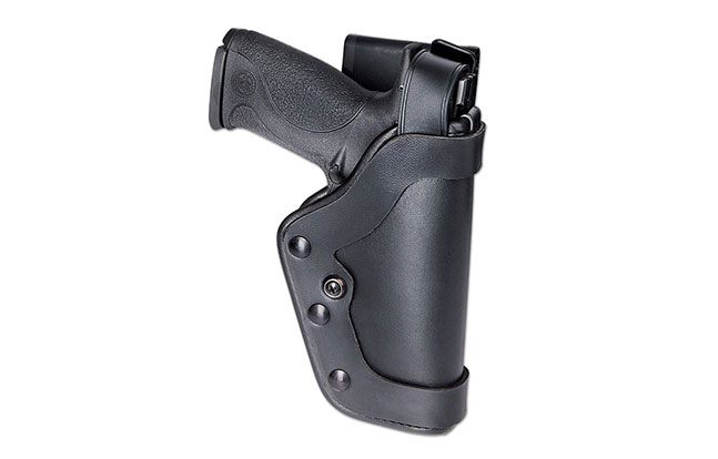 Top Retention Holsters law enforcement GWLE Feb 2015 Uncle Mike's Pro-3 Slim Line