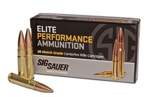 Sig Sauer 300 Blackout Elite Performance Ammunition Match Grade Centerfire Cartridges