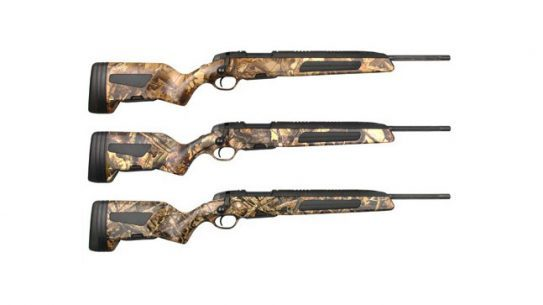 Steyr Arms Scout Rifles limited edition camouflage