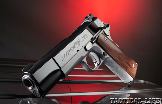Top 18 Full-Size Guns 2014 CYLINDER & SLIDE SUPER LITE .45 ACP lead