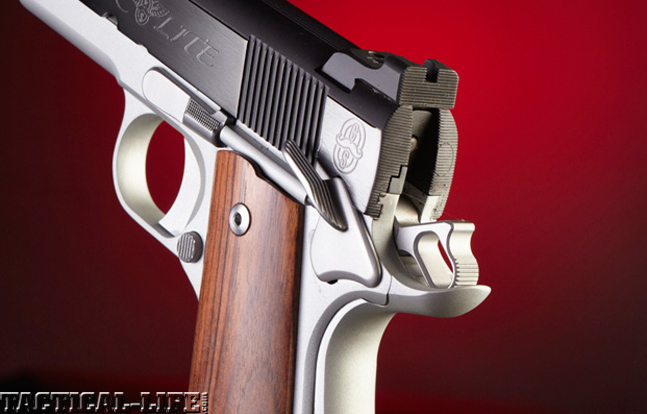 Top 18 Full-Size Guns 2014 CYLINDER & SLIDE SUPER LITE .45 ACP rear