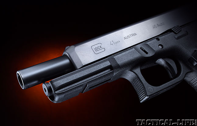 Top 18 Full-Size Guns 2014 GLOCK 41 GEN4 barrel