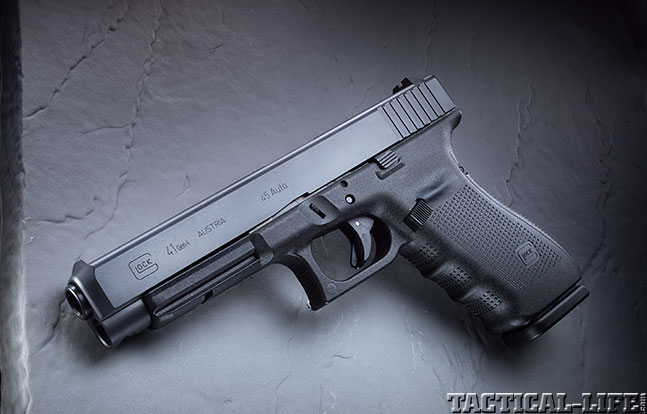 Top 18 Full-Size Guns 2014 GLOCK 41 GEN4 solo