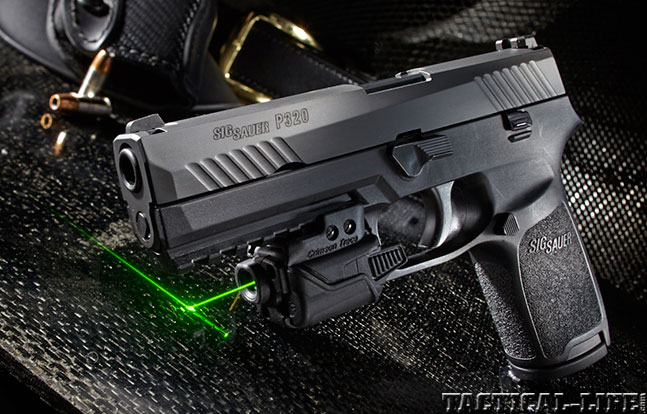 Top 18 Full-Size Guns 2014 SIG SAUER P320 lead