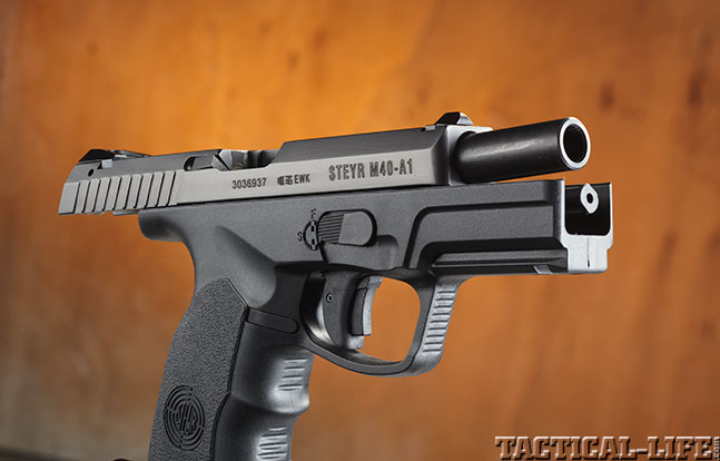 Top 18 Full-Size Guns 2014 STEYR ARMS M40-A1 .40 S&W barrel
