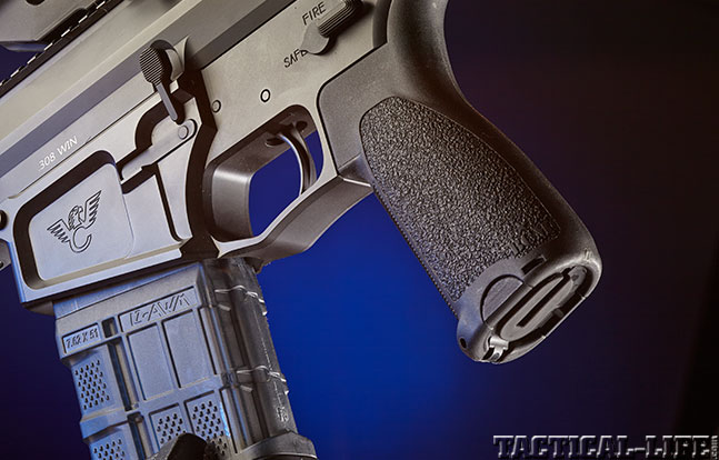Wilson Combat BILLet-AR Lightweight GWLE Feb 2015 grip