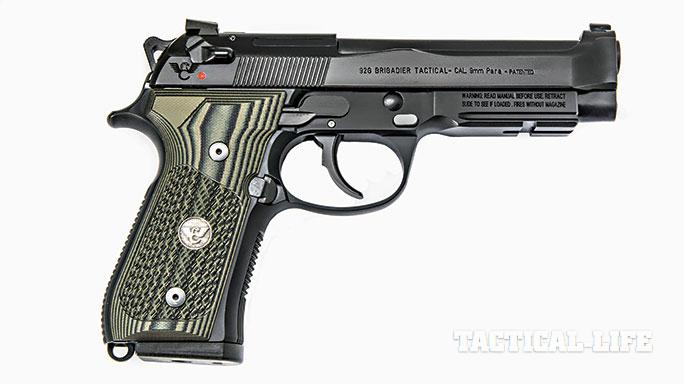 Wilson Combat 92G Brigadier Beretta SWMP April/May 2015 solo