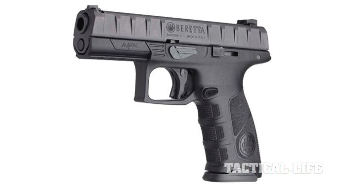 Beretta APX debut striker-fired
