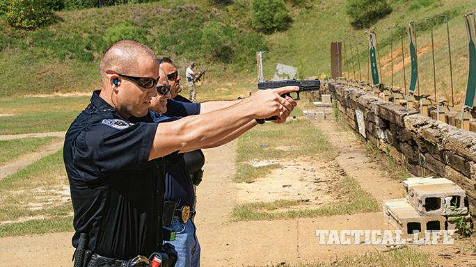 Bryant Police Department Arkansas Glock 21 range