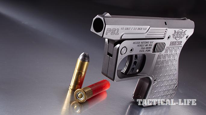 Compact Backup Handguns 2015 Heizer PS1