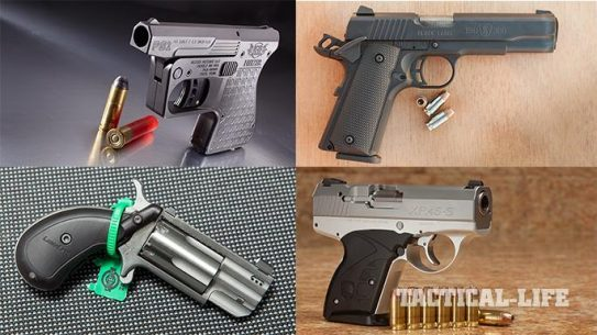 14 New Compact Backup Handguns For 2015