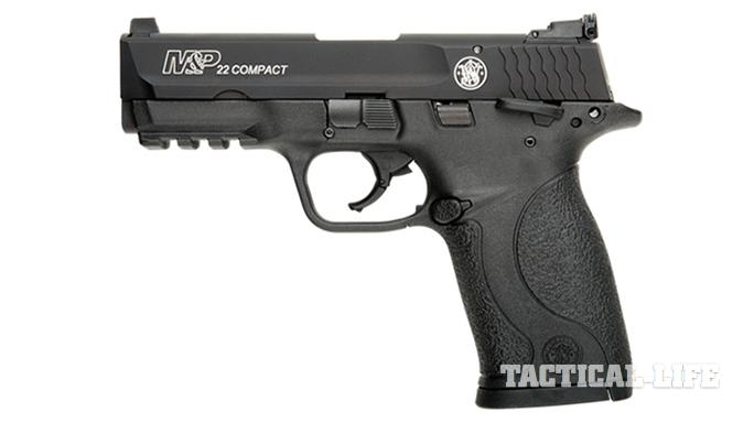 Compact Backup Handguns 2015 Smith & Wesson M&P22 Compact