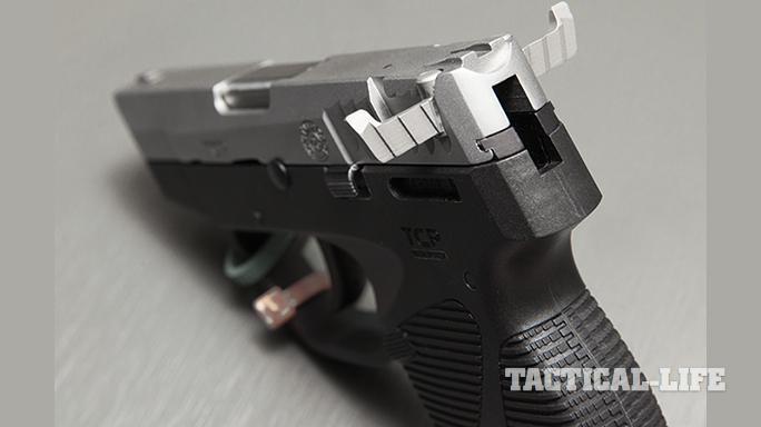 Compact Backup Handguns 2015 Taurus TCP With Wings
