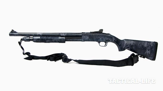 DK Mossberg 590A1 shotgun Kryptek Typhon Camo