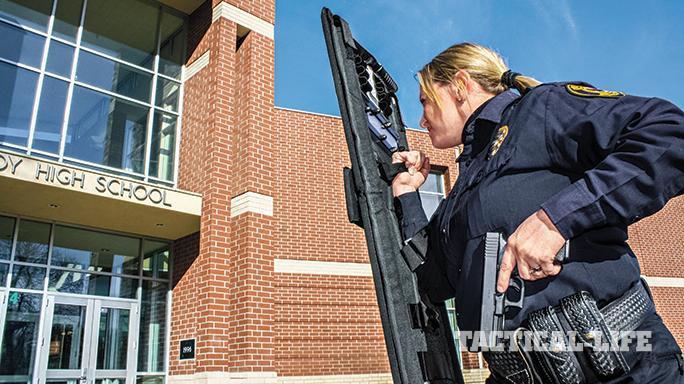 Female LEOs Glock 2015 school