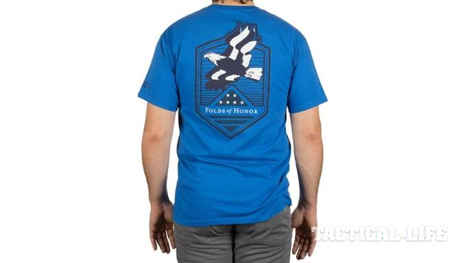 Folds of Honor t-shirt blue 5.11 Tactical
