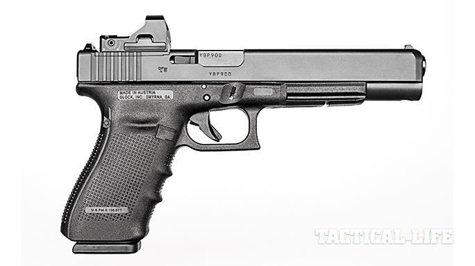 Glock G40 Gen4 MOS Modular Optic System right