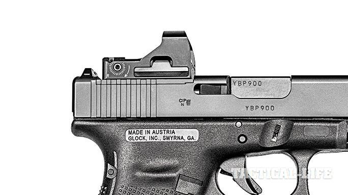 Glock G40 Gen4 MOS Modular Optic System sight