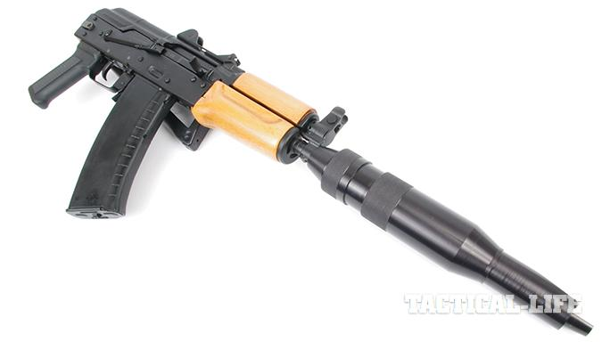 High Powered Armory Krink fake suppressor