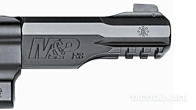 Smith & Wesson M&P R8 revolver barrel
