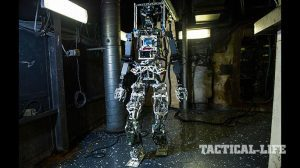Navy SAFFiR Firefighting Robot Prototype