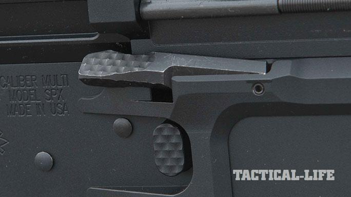 sneak peek Seekins Precision SP10 rifle bolt release