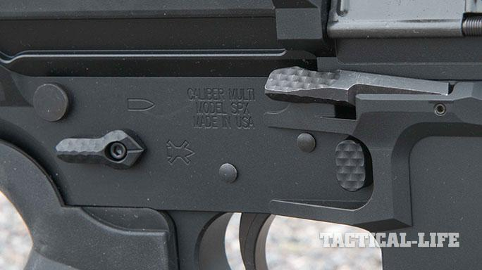 sneak peek Seekins Precision SP10 rifle controls