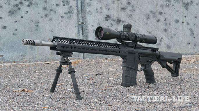 sneak peek Seekins Precision SP10 rifle solo