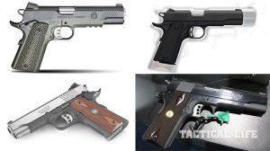 Top 4 New 1911 Handguns For 2015
