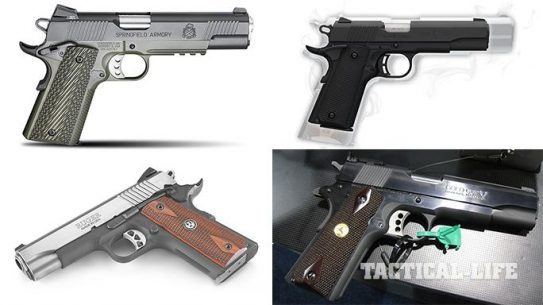 Top 4 New 1911 Handguns For 2015