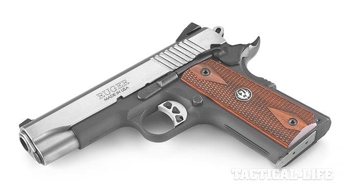 Top 1911 handguns 2015 RUGER SR1911 LIGHTWEIGHT COMMANDER