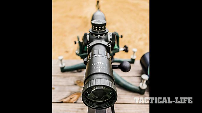 Barrett 98B tactical rifle TW May 2015 Kahles scope