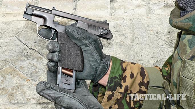 AK 2015 Soviet pistols PSS police