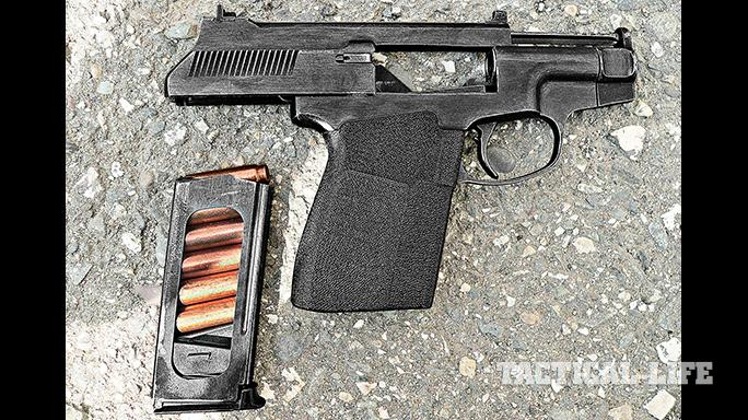 AK 2015 Soviet pistols PSS load