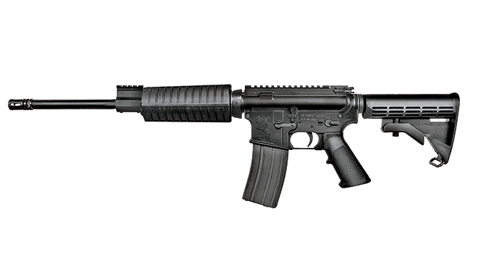 AR-15 Rifles Under $1,000 TW May 2015 Olympic Arms Plinker Plus Flat Top