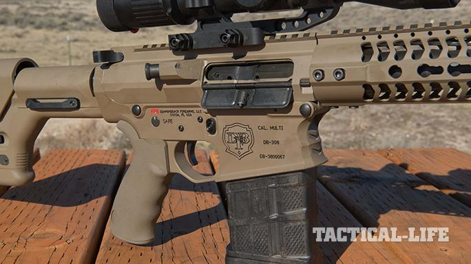 Diamondback Firearms DB10E rifle 7.62 sneak speak receiver