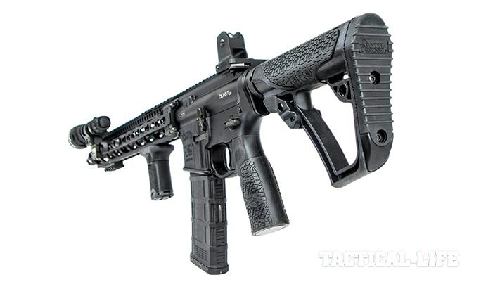 Daniel Defense DDM4V11 LW 5.56mm SWMP April 2015 rear