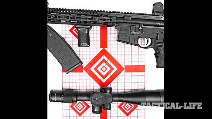 Daniel Defense DDM4V11 LW 5.56mm SWMP April 2015 target