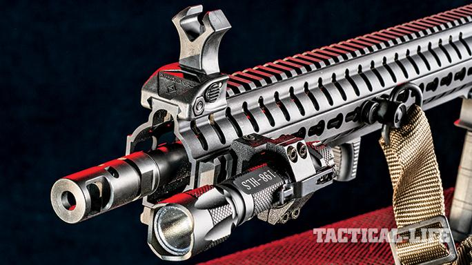 GWLE April 2015 CMMG Mk3 CBR handguard