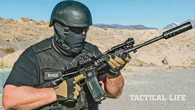 FN America FN 15 Patrol Carbine GWLE April 2015 field