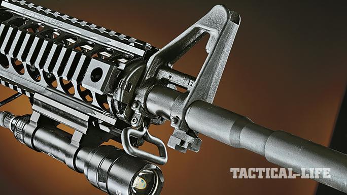 FN America FN 15 Patrol Carbine GWLE April 2015 front sight