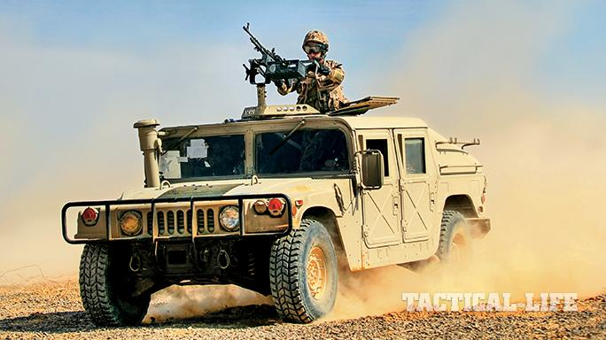 Jordanian Special Forces SWMP April 2015 Humvee