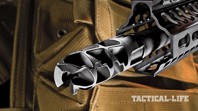 Armalite M-15 Piston SWMP April 2015 muzzle