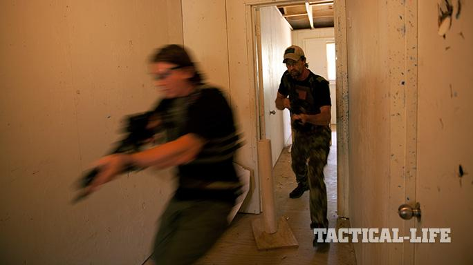 Northern Red Training hallway