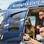 Nebraska Safety Patrol GLOCK 21 SF helicopter