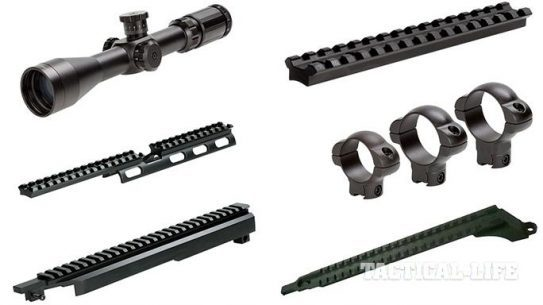 6 New Tactical Products Sun Optics USA 2015