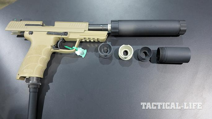 SHOT SHow 2015 suppressors AAC Ti-RANT 45M