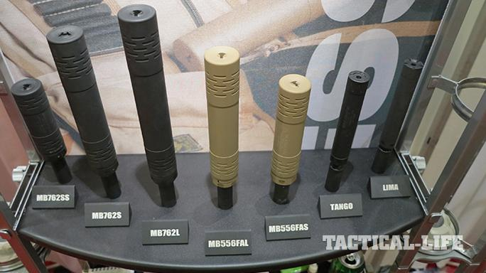 SHOT SHow 2015 suppressors Mack Brothers MB556FAL MB556FAS