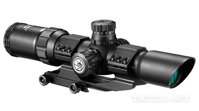 SHOT Show 2015 Weapon Sights Barska SWAT-AR Scope