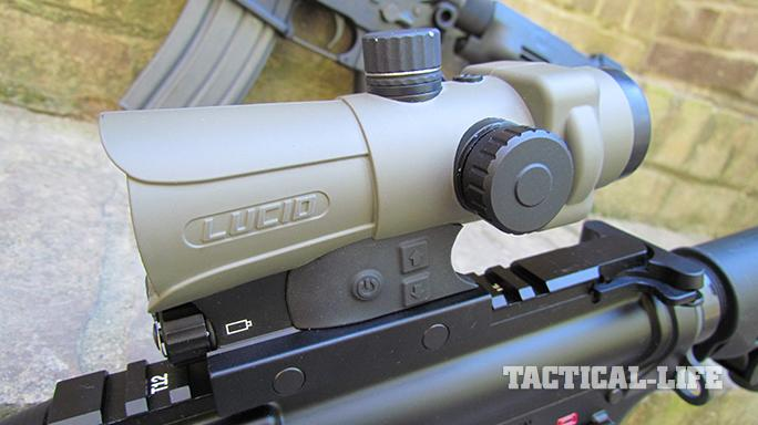 SHOT Show 2015 Weapon Sights Lucid P7
